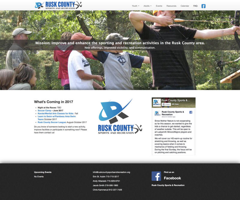 Rusk County Sports & Recreation